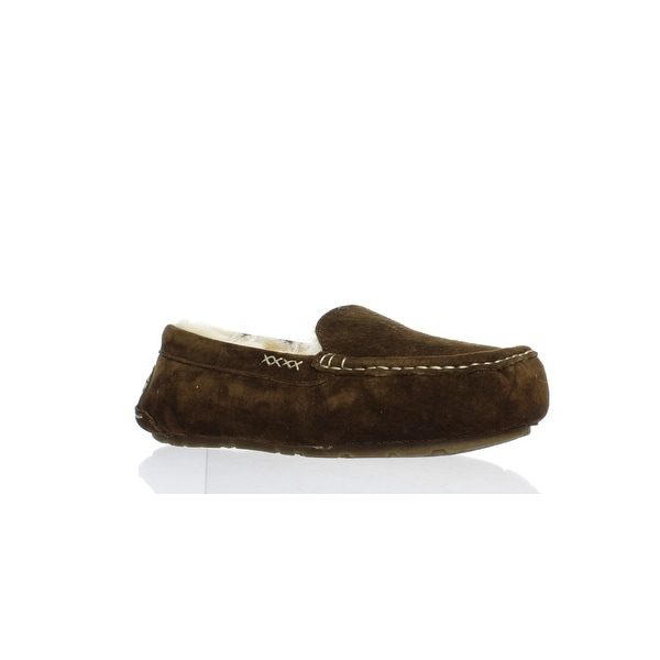 f0d849e2a37 Shop Old Friend Womens Bella Chocolate Moccasin Slippers Size 7 - On ...