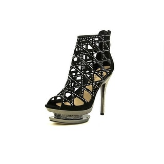 Pleaser Fantasia-1012 Women Open Toe Suede Platform Sandal