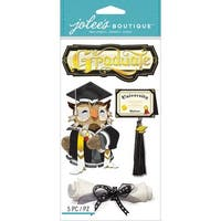 Jolee's Boutique Dimensional Stickers-Graduation