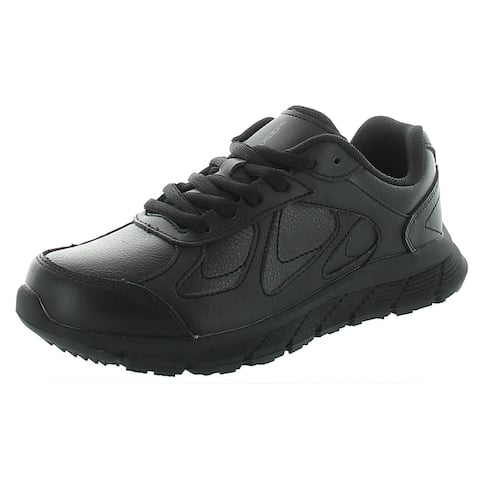 Shoes For Crews Womens Galley II Sneakers Leather Work - Black