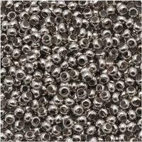 Genuine Metal Seed Beads 11/0 Nickel Plated 15 Grams