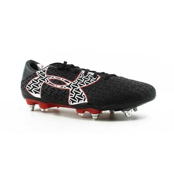 826cc1e716c3 Under Armour Mens Ua Clutchfit Force 2.0 Hyb Black Soccer Cleats Size 8.5