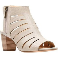 20fb59968 Clarks Women s Deloria Ivy Heeled Sandal Sand Leather