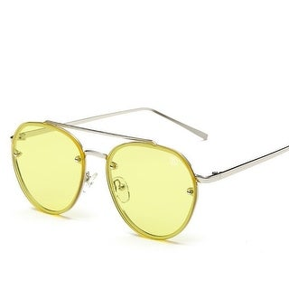 Street Affaries Movado Sunglasses In Yellow - One Size