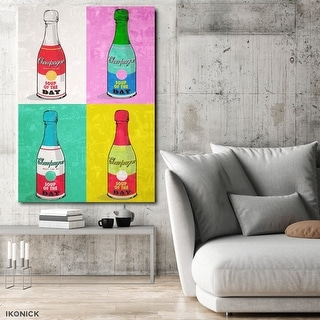 IKONICK Soup Of The Day ( Pastel ) Canvas Art