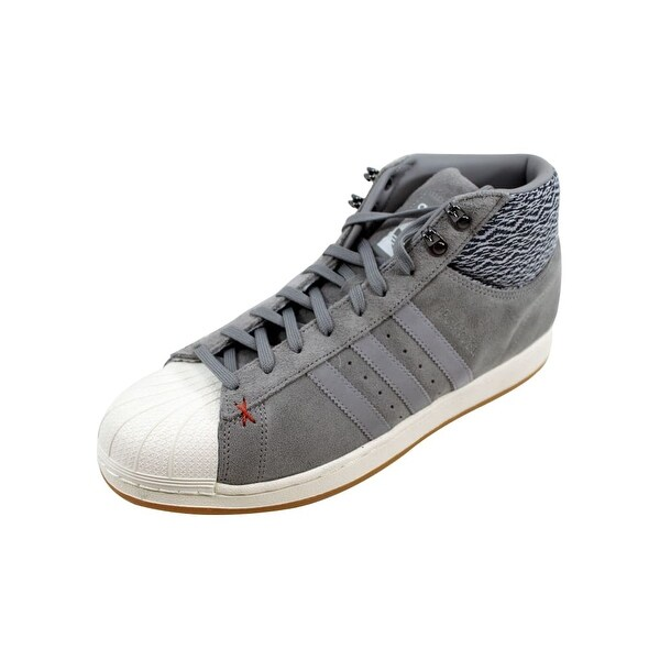 Shop Adidas Men's Pro Model BT Charcoal Grey/White AQ8160 - 22340423 On Sale - - 22340423 - 94d004