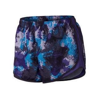 Nike Womens Plus Tempo Shorts Dri-Fit Printed