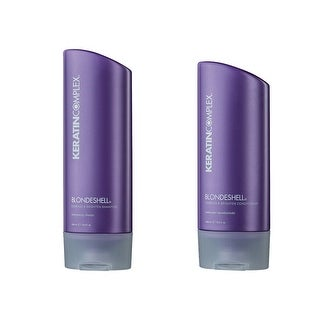 Keratin Complex Blondeshell Debrass & Brighten Shampoo And Conditioner 2 Pack