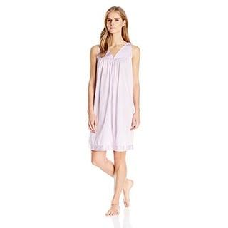 Link to Vanity Fair Women's Coloratura Sleepwear Short Gown 30107 Similar Items in Intimates