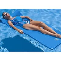 Texas Rec 8030026P Super Soft Pool Float in Sunray Bahama Blue