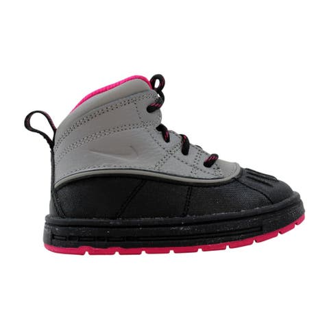 Nike Toddler Woodside 2 High Light Charcoal/Light Charcoal-Fireberry 524878-003