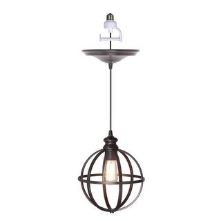 """Worth Home Products PBN-4034-0011 Instant Pendant Series Single Light 10"""" Wide Recessed Lighting Conversion Kit"""