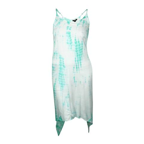 Raviya Women's Asymmetrical Tie-Dyed Maxi Swim Cover