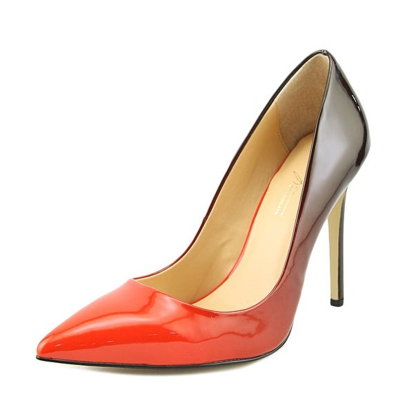 Daya by Zendaya Atmore II Women Pointed Toe Synthetic Red Heels