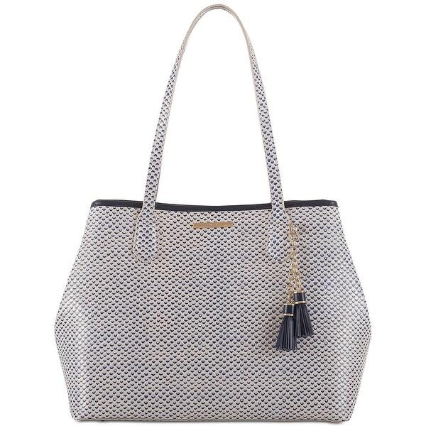 b4adbd8ef Shop Brahmin Julian Lorena Medium Leather Tote Bag Blue Multi - Free ...