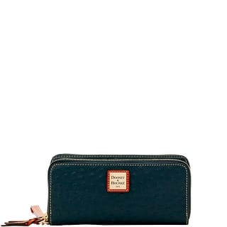 Dooney & Bourke Ostrich Double Zip Wallet (Introduced by Dooney & Bourke at $188 in Aug 2017)|https://ak1.ostkcdn.com/images/products/is/images/direct/49fdcb85efb3a9b9a6e499e0978c156234fa6164/Dooney-%26-Bourke-Ostrich-Double-Zip-Wallet-%28Introduced-by-Dooney-%26-Bourke-at-%24188-in-Aug-2017%29.jpg?impolicy=medium