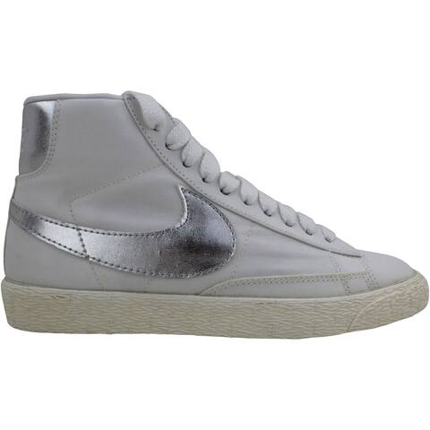 Nike Blazer High Vintage ND White/Metallic Silver 512709-100 Women's