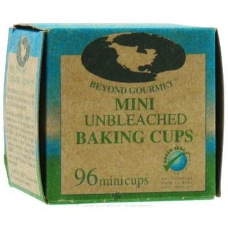 Beyond Gourmet 046 Unbleached Mini Baking Cup, Box of 96