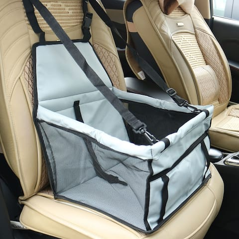 Car Booster Seat Portable Dog Pet Carrier Storage Folding Holder Seat Protector