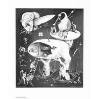 ''Hell'' by M.C. Escher Fantasy Art Print (25.625 x 21.75 in.)