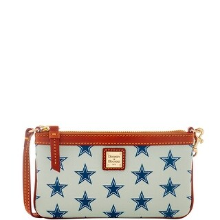Dooney & Bourke NFL Dallas Cowboys Large Slim Wristlet (Introduced by Dooney & Bourke at $88 in Aug 2016)