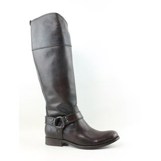 Frye Womens Melissa Harness Zip Brown Riding, Equestrian Boots Size 6