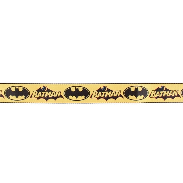 Batman Vintage Logo and Bat Signal Seatbelt Belt