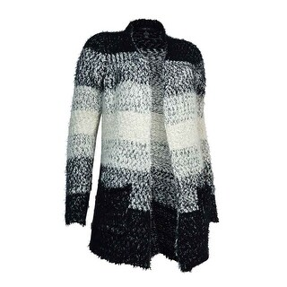 Style & Co. Women's Ombre Eyelash Cardigan Sweater