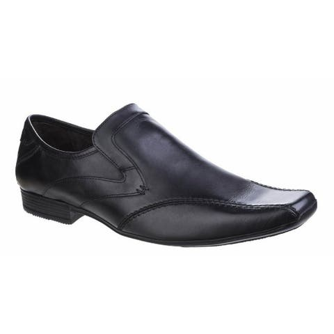 Base London Mens Sphere Excel Waxy Slip On Leather Loafer Shoe