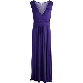 Design History Womens Maxi Dress Sleeveless High Waist
