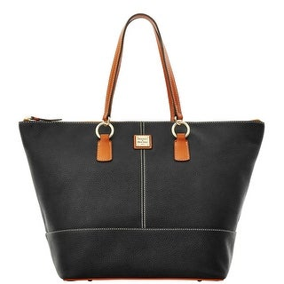 Dooney & Bourke Pebble Grain O Ring Shopper (Introduced by Dooney & Bourke at $248 in Sep 2015) - Black