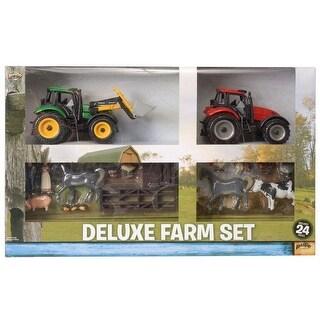 Gift Corral Western Toy Boys Girls Kids Farm Set 24 Piece 87-6804