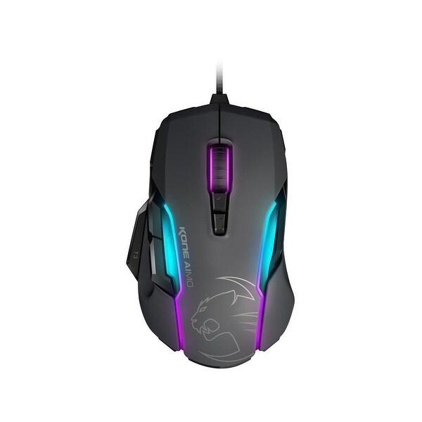 Roccat Inc. - Roccat Kone Aimo - Rgba Smart Customization Gaming Mouse, Grey