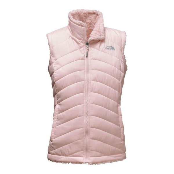 fa628f316389 The North Face Women  x27 s Mossbud Swirl Reversible Vest Purdy Pink -  MEDIUM