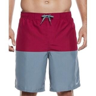 Nike NEW True Berry Purple Mens Size XL Colorblock Board Surf Shorts