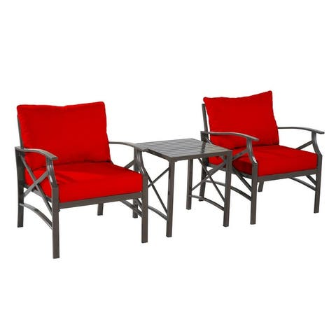 Saint Birch Luxi 3-piece set Lounge Chairs with End Table