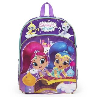 Nickelodeon Girls Shimmer and Shine Molded 3D Backpack