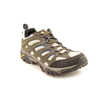 Merrell Moab Ventilator Men Round Toe Leather Gray Hiking Shoe