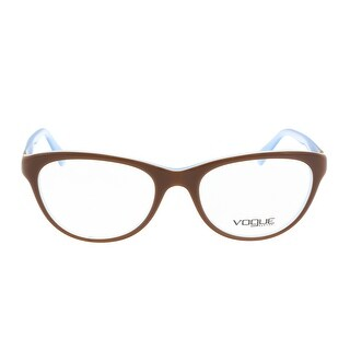 Vogue VO2938B 2011 Brown Cateye Optical Frames - 52-18-135