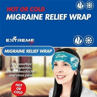 Tagco USA EF-MRW-0165 Migraine Relief Wrap, Black