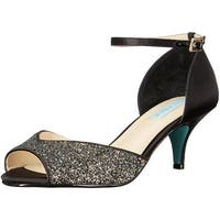 Betsey Johnson Womens SB-Rita Open Toe Special Occasion Ankle Strap Sandals - 8