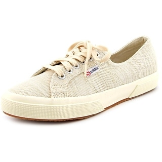 Superga Metcot Women Round Toe Canvas Ivory Sneakers