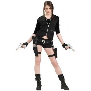 Treasure Huntress Holster and Gun Adult Costume Accessory