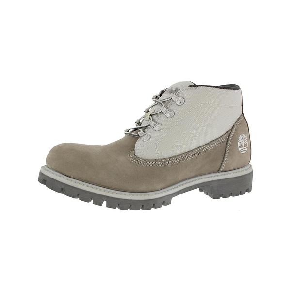 4b0b40c657cc Shop Timberland Mens Campsite Hiking Boots Nubuck Lace-Up - Free ...