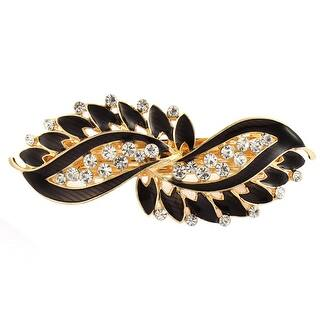 Lady Rhinestone Inlaid Leaf Style Spring Loaded Hair Barrette Clip Black|https://ak1.ostkcdn.com/images/products/is/images/direct/4a157b14ef586ef915c9e726092263d1b1fd0981/Lady-Rhinestone-Inlaid-Leaf-Style-Spring-Loaded-Hair-Barrette-Clip-Black.jpg?impolicy=medium