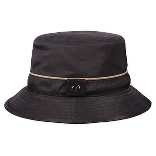 Stetson Women's Waterproof Rain and Snow Bucket Hat