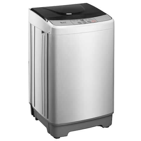 Compact Portable Washing Machine, 13.3lb Capacity, 10 Wash Programs