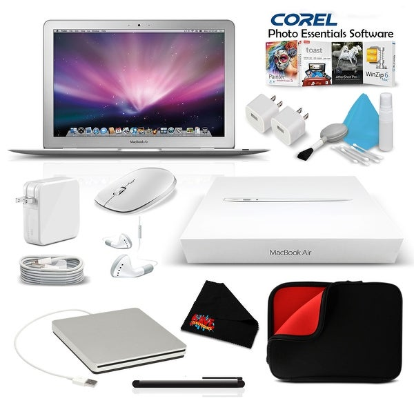 Apple 11.6 Inch MacBook Air Notebook Computer Premium Bundle