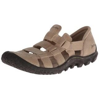 Jambu Mens Cobra Leather Slip On Sport Sandals - 11.5 medium (d)