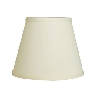 Link to Cloth & Wire Slant Empire Hardback Lampshade with Bulb Clip, Egg Similar Items in Lamp Shades